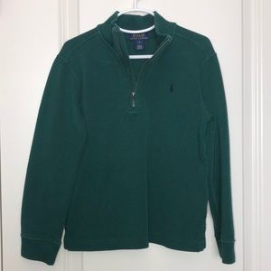NWOT Boys Polo Green Sweater